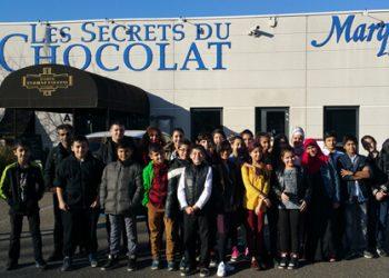 Sortie au musée du chocolat